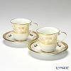 ノリタケ ジョージアンパレスアメリカン碗皿 ペア P59589/4858