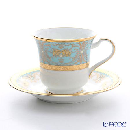 ノリタケ ジョージアンターコイズ アメリカン碗皿 T59589/4857