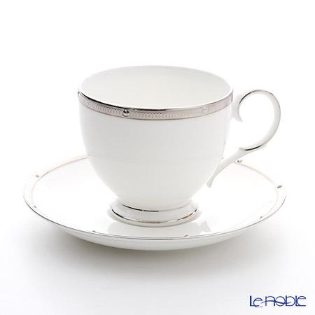 ノリタケ ロシェルプラチナ T50788A/4795ティー・コーヒー碗皿