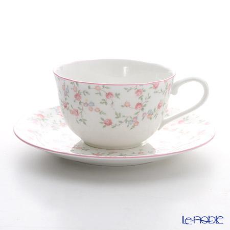 ノリタケ キューティーローズ T59387A/9940ティー・コーヒー碗皿