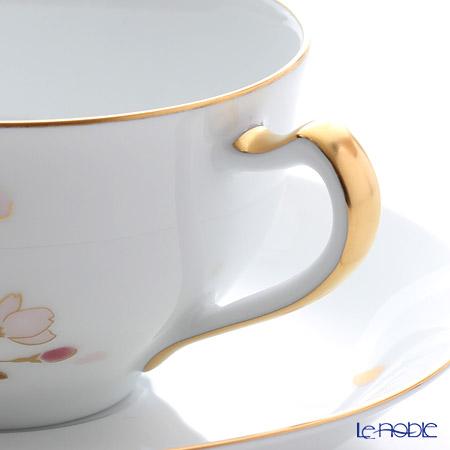 Okura Art China 'Sakura - Ito Cherry Blossom' Pink Gold 1C/A682-1 Tea / Coffee Cup (combined) & Saucer 235ml