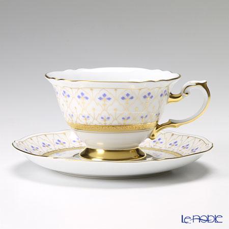 大倉陶園 スウィートメモリー ティー碗皿(カップ&ソーサー) 70C/1636