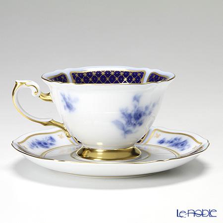 大倉陶園 ブルーインペリアルカップ&ソーサー 70C/9581