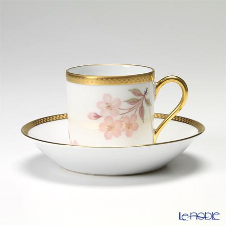 Okura Art China annual cherry blossom viewing Cup & saucer 79C/5036