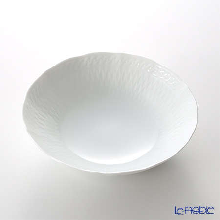 ノリタケ シェール ブラン ディープボウル 17cm 94807/1655