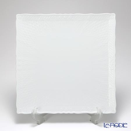 ノリタケ シェール ブラン スクエアプレート 27cm T94834/1655