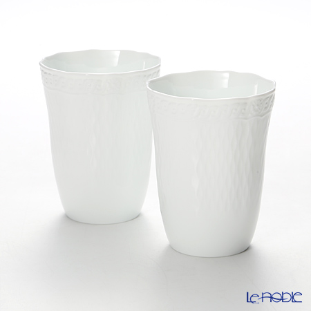 Noritake 'Cher Blanc' P94881/1655 Tumbler 300ml (set of 2)