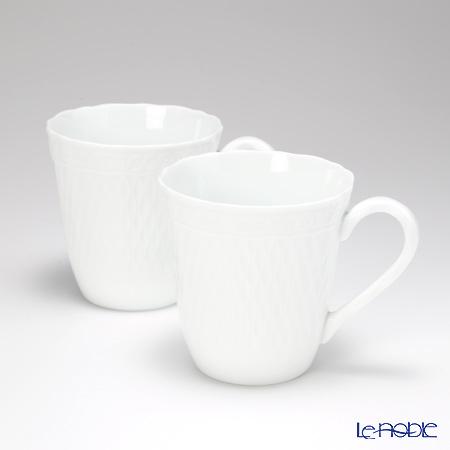 ノリタケ シェール ブランマグカップ ペアセット P94854/1655
