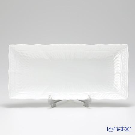 ノリタケ シェール ブラン 長角皿 27cm T94800/1655