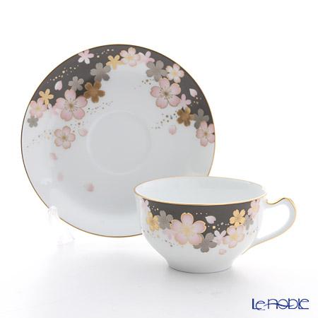 大倉陶園 友禅桜碗皿 1C/A682-2