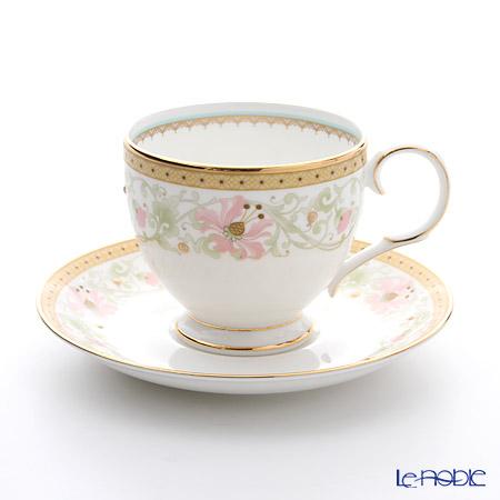ノリタケ ブルーミング スプレンダー T50788A/4892ティー・コーヒー碗皿