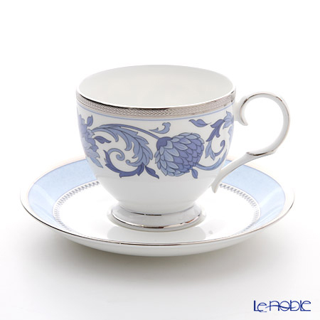Noritake sonnets in blue T50788A/4893 Tea coffee cup plate