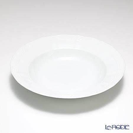 ノリタケ シェール ブラン ディーププレート 24cm 94898/1655