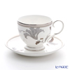 Noritake Platinum by IRA T50788A/4897 Tea coffee cup plate