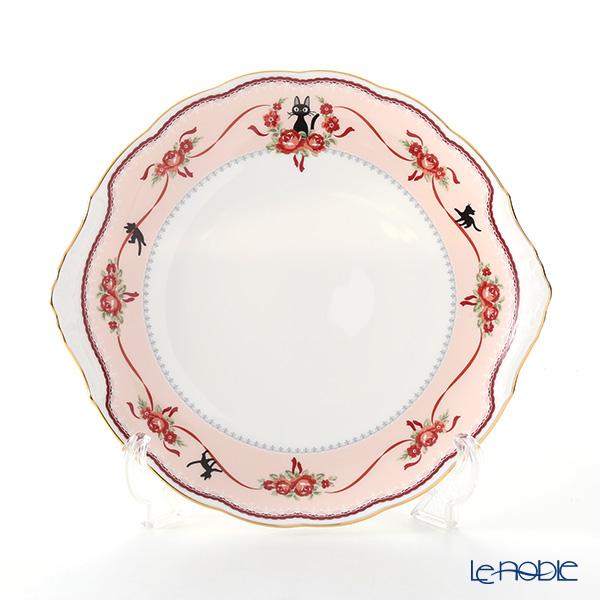 ノリタケ 魔女の宅急便 MJ58119/H-612L 28cmパーティープレート (ピンク)