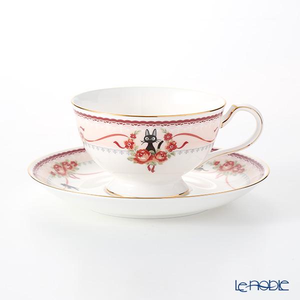 ノリタケ 魔女の宅急便 MJ97221/H-612L ティー・コーヒー碗皿(ピンク)