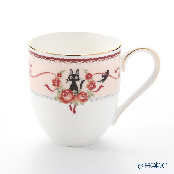 Noritake Kiki's Delivery Mug Cup, pink MJ58186/H-612L (Cat) 则武 吉卜力工作室 魔女宅急便 马克杯(粉色)