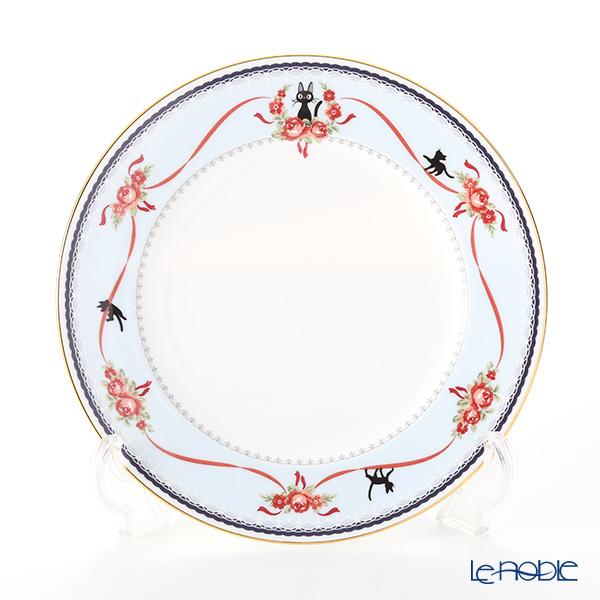 Noritake Kiki's Delivery Plate 21 cm, blue MJ97211/H-613L (Cat) 则武 吉卜力工作室 魔女宅急便 21cm盘(蓝色)