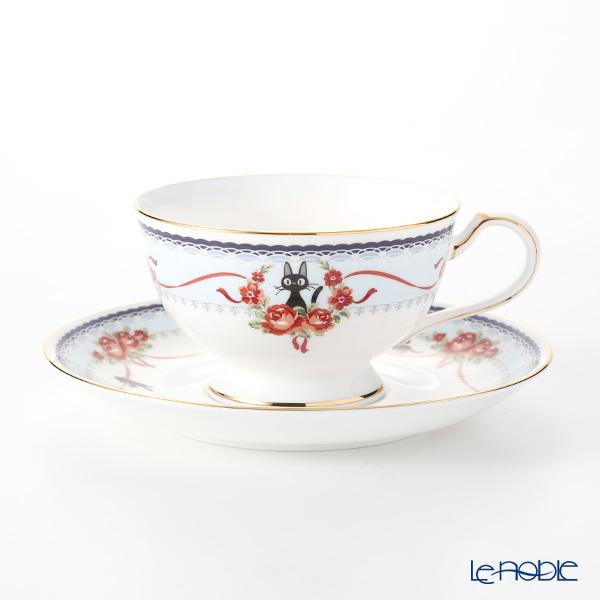 ノリタケ 魔女の宅急便 MJ97221/H-613L ティー・コーヒー碗皿(ブルー)