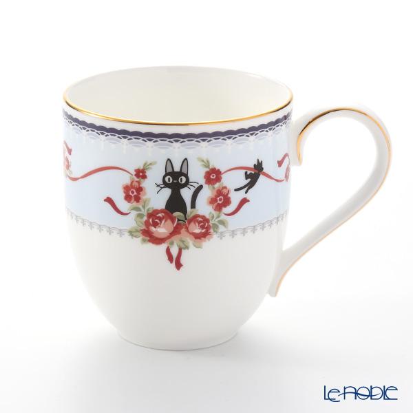 Noritake Kiki's Delivery Mug Cup, blue MJ58186/H-613L (Cat) 则武 吉卜力工作室 魔女宅急便 马克杯(蓝色)
