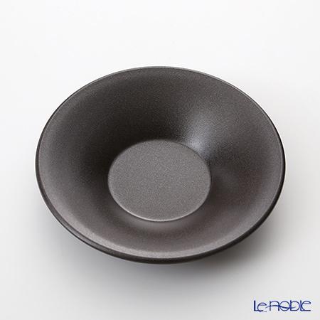 ノリタケ 茶托 ラメグラファイトRQ03/NM01 11cm