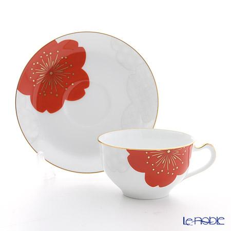 大倉陶園 吉祥桜碗皿 1C/A682-5