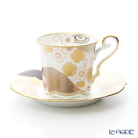 ノリタケ あやみなも T52506/4661 桜金銀彩コーヒー碗皿