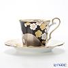 ノリタケ あやみなも T52506/4939-1夜桜金銀彩コーヒー碗皿