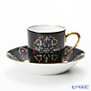 Okura Art China impromptu poet series Abbey and stained-glass Windows Demitasse Cup & Saucer 79C/E184-2 100 ml