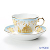 Okura Art China improvising poets series Amalfi and fruit Demitasse Cup & Saucer 67C/E184-5 75 ml