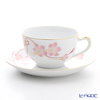 Okura Art China Cherry-flower knot Tea Cup & Saucer 1C/A682-6