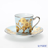 Noritake tribute collection Demitasse Cup plate (pale blue rose emoticons) T2404/H-768