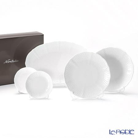 Noritake Cher Blanc 5 pcs plate set P005T/1655