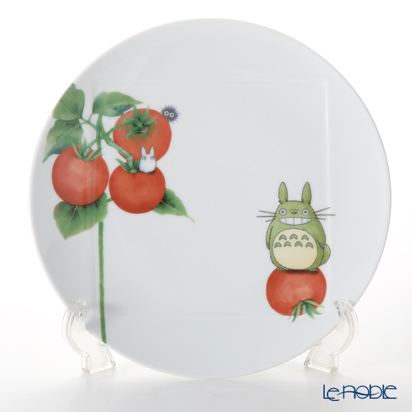Noritake 'My Neighbor Totoro - Vegetable Collection / Tomato' VT9930A/1704-2 Plate 27cm 则武 吉卜力工作室 龙猫/豆豆龙 27cm盘 西红柿