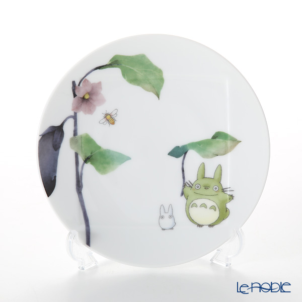 Noritake 'My Neighbor Totoro - Vegetable Collection / Aubergine/Eggplant' VT9931A/1704-1 Plate 15.5cm 则武 吉卜力工作室 龙猫/豆豆龙 15.5cm盘 茄子