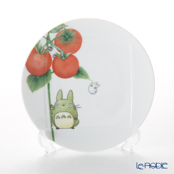 Noritake 'My Neighbor Totoro - Vegetable Collection Tomato' VT9931A/1704-2 Plate 15.5cm 则武 吉卜力工作室 龙猫/豆豆龙 15.5cm盘 西红柿