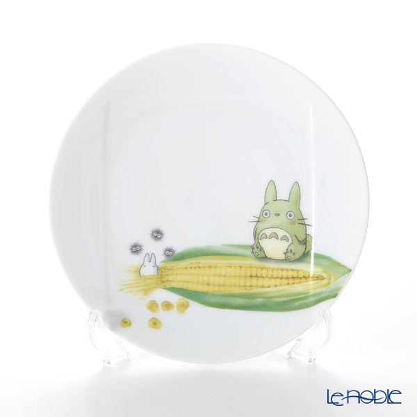 Noritake My Neighbor Totoro Vegetable Collection Plate 15.5 cm, Corn VT9931A/1704-3 则武 吉卜力工作室 龙猫/豆豆龙 15.5cm盘 玉米
