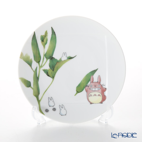 Noritake My Neighbor Totoro Vegetable Collection Plate 15.5 cm, Okra VT9931A/1704-4 则武 吉卜力工作室 龙猫/豆豆龙 15.5cm盘 秋葵