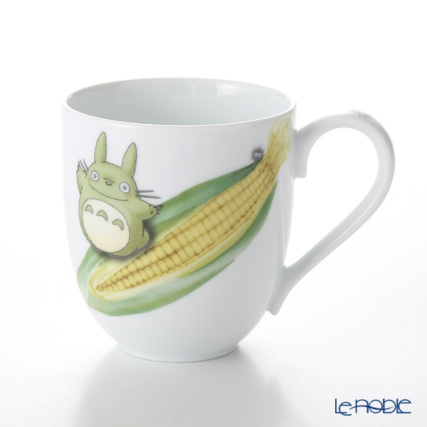 Noritake 'My Neighbor Totoro - Vegetable Collection / Corn' VT91086/1704-3 Mug 290ml 则武 吉卜力工作室 龙猫/豆豆龙 马克杯 玉米