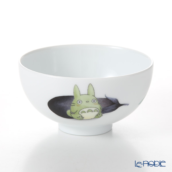 Noritake 'My Neighbor Totoro - Vegetable Collection / Aubergine/Eggplant' VT91082/1704-1 Rice Bowl 11.5cm 则武 吉卜力工作室 龙猫/豆豆龙 饭碗 茄子