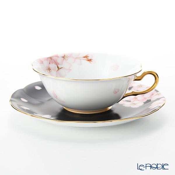 大倉陶園 碗皿暦 94C/E214 カップ&ソーサー 4月・桜