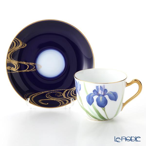 Okura Art China Bowl dish calendar 57C/E215 12 months Cup & Saucer May-Iris