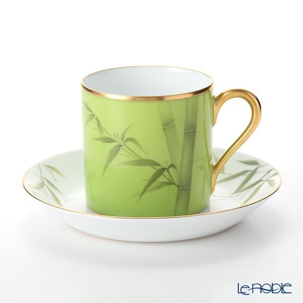 大倉陶園 碗皿暦 85C/E217 カップ&ソーサー 7月・若竹