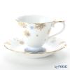 Okura Art China Bowl dish calendar 46C/E222 12 months Cup & Saucer December-Snow Rabbit
