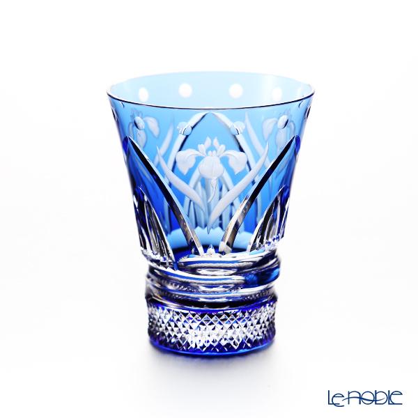 カガミクリスタル 冷酒杯 T746/2876CCB 5月・杜若