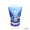 Kagami crystal kiriko glass sake Cup T746/2876 CCB 12 months Glass May-Iris