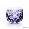 Kagami crystal glass sake Cup T622/2877 CMP June, hydrangea