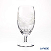 Kagami Crystal / Kiriko Glass '12 Months / Sunflower - August' Clear KW190/2879 Pedestal Glass / Pilsner
