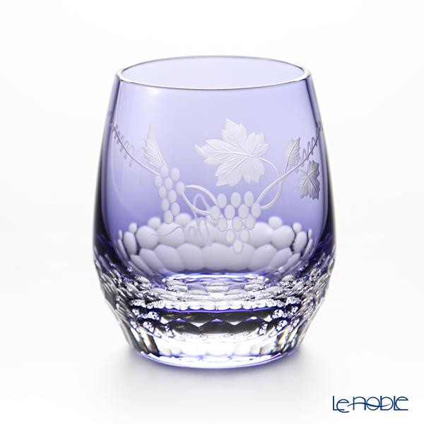 カガミクリスタル ロックグラス T741/2882CMP 11月・葡萄