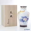 Okura Art China 'Phoenix with Lotus' Pink Blue Gold 20A/A946-2 Vase H28cm